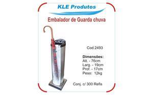 Embalador de Guarda Chuva em Aço Inox e ABS