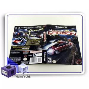 Encarte E Manual Need For Speed Carbon Original Gamecube