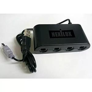 Gamecube Controller Adapter For Wii U & Pc Usb - Nexilux