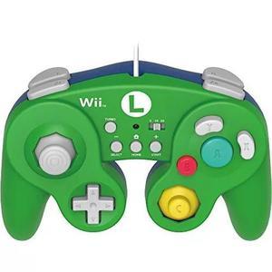 Hori Batalha Almofada Para Wii U (luigi Versão) Com Turbo -