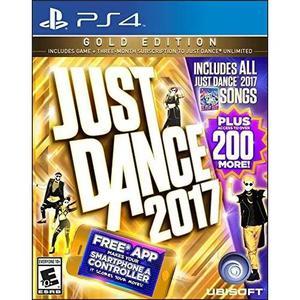 Just Dance 2017 Gold Edition (inclui Apenas A Dança Assinat