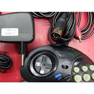 Kit Para Mega Drive 1 Fonte+cabo Av+ 1 Controle R