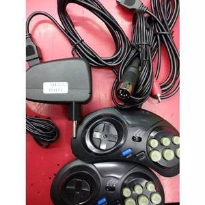 Kits Fonte + Cabo Av + 2 Controles Mega Drive 1