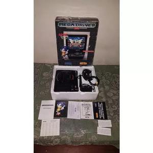 Mega Drive 2 Tectoy Completo Na Caixa Funcionando 100%. A1