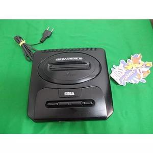 Mega Drive 3 Tectoy Só O Console Pode Colocar O Sega Cd