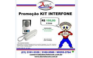 Promoção de venda de um Kit Interfone