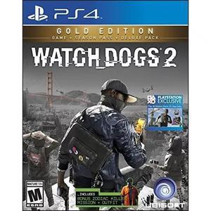 Watch Dogs 2: Gold Edition (inclui Conteúdo Extra + Season