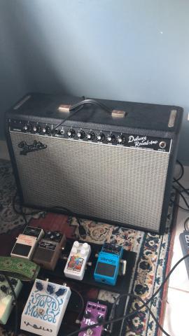 Amplificador Valvulado Fender Deluxe Reverb ?65 Reissue