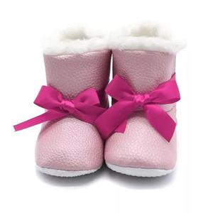 Botas De Algodão Elegante Para Inverno Criança Infantil