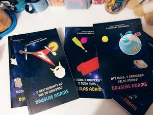 Coleção de livros do Guia do mochileiro das galáxias