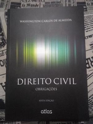 Direito Civil Obrigações 6 ed. 2015 - Washington Almeida
