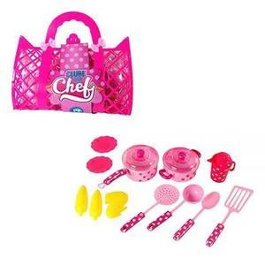 Kit Cozinha Infantil Clube Do Chef Com Panela E Acessorios 1