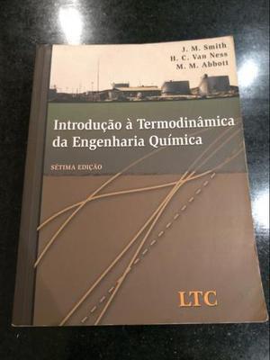 Livro Introdução à Termodinâmica da Engenharia Química