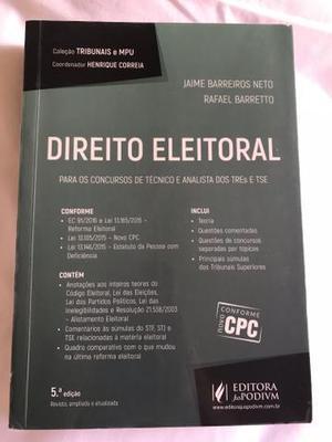Livro de Direito Eleitoral 5a edição