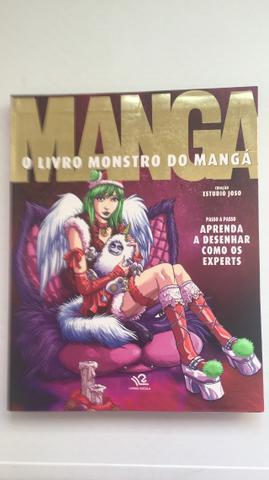 O Livro Monstro Do Mangá - Estudio Joso - Em ótimo estado!