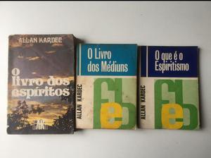 Publicações de Allan Kardec e Chico Xavier