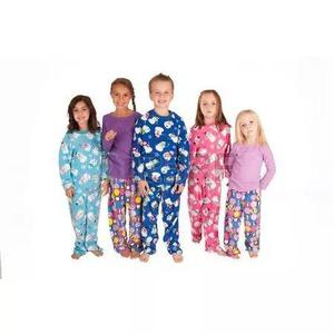 Saldão 2 Macacão Pijama Dormir Criança Infantil Conjunto
