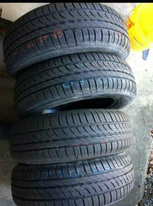 4 Pneus NOVOS BARATOS aro 14 Pirelli P1 cinturado