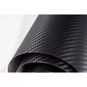 Adesivo Envelopamento Fibra De Carbono Moldável 150 X 50 Cm