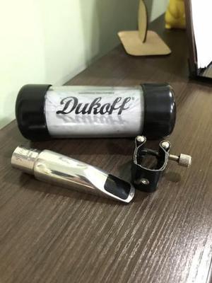 Boquilha Dukoff D8 sax alto