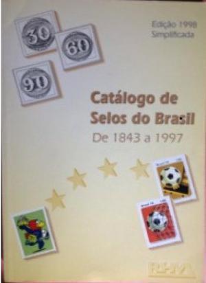 Catalogo de Selos do Brasil  a  - Frete Grátis - X-