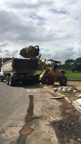 Demolição e limpeza de terreno