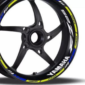 Friso + Adesivo Refletivo M1 Roda Moto Yamaha Fazer 250 Fz25