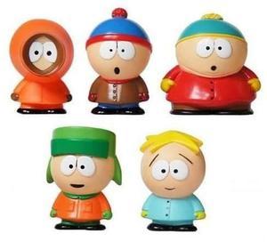 Kit 5 Bonecos South Park Cartman Kenny Stan