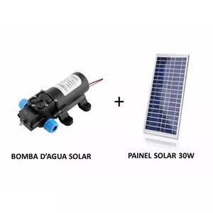 Kit Bomba Dágua Solar + Painel Energia Solar + Controlador