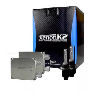 Kit Xenon K2 4300k H1 H3 H7 H8 Hb3 Hb4 H27 H16 H11 C/ Nf