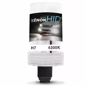 Lampada Xenon H7 4300k Reposição Luz Farol Milha Tuning