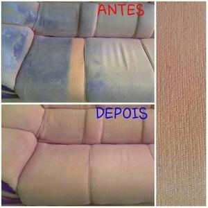 Limpeza e Impermeabilização em sofás