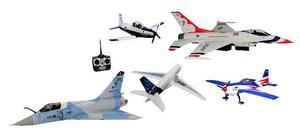 Loja de avião de controle remoto