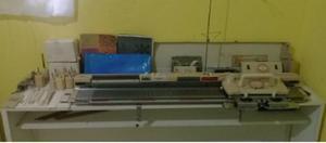 Maquina De Trico E Crochê. Lamofix Silver Sk 322