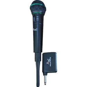 Microfone Sem Fio Profissional Knup Kp-m0005 Dinâmico Festa