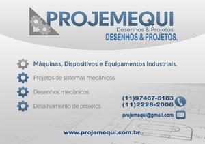 Projetista mecânico de máquinas e equipamentos