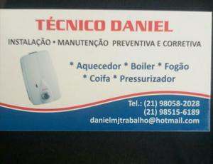 Técnico de aquecedor e fogão