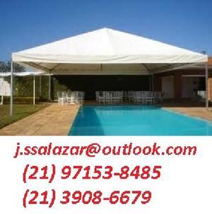 Tendas e palcos para eventos