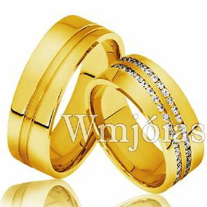 Alianças de casamento - noivado e compromisso