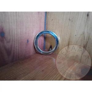 Argola Inox N 18 Chata 33mm Interno Por 47mm Externo