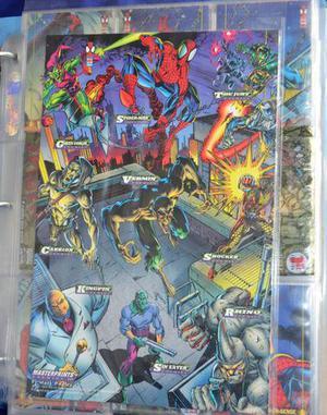 Cards Spider Man  Homem Aranha + Especiais 3d + Promos