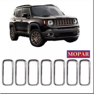 Friso Grade Cromada Jeep Renegade Até 2018