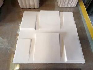 Placas de gesso 3d- para paredes internas