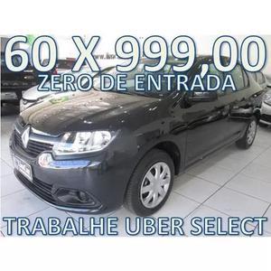 Renault Logan 1.6 Completo Zero De Entrada+60 X 999,00 Fixas