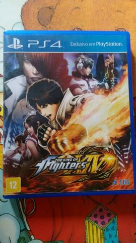 Jogo The king of fighters XIV ps4 usado