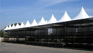 Locação de estrutura para evento