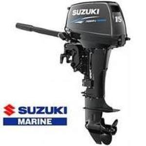 Motor de popa 15 hp  garantia suzuki marine