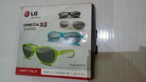 Kit com 4 óculos 3d tv philips originais   Posot Class 030f843cc9