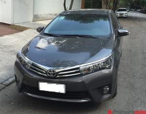 Toyota Corolla Xei 2.0 FLEX  cor cinza, impecável,