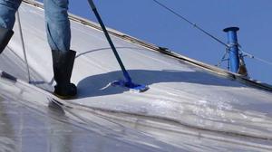 Limpeza de toldos e fachadas